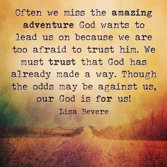 God leads us 4 13