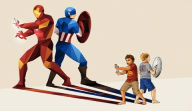 imagining super heroes
