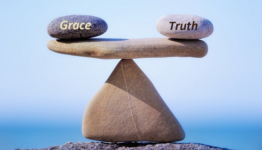 balanced grace and truth