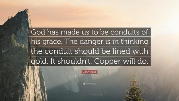 conduits of grace