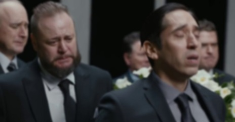 sad funeral