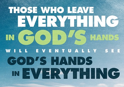 leave in God's Hands
